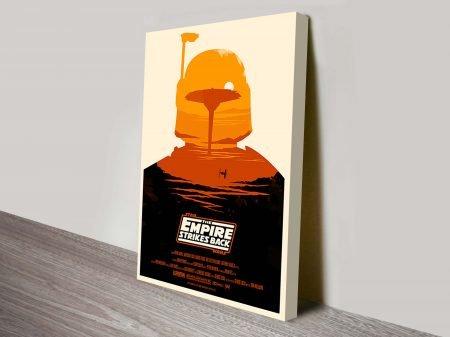 Boba Fett Star Wars Movie Poster