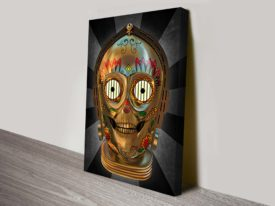 C3Po Design Uniform Star Wars Art
