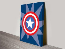captain america marvel comic symbol art