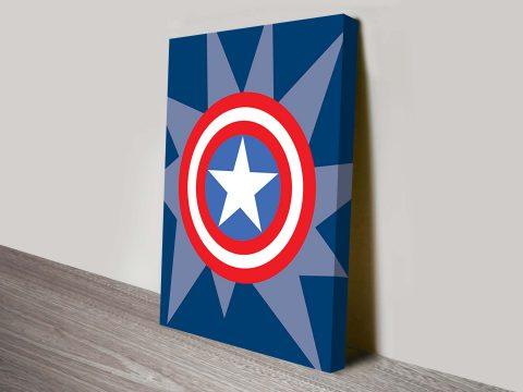 captain america marvel comic symbol art