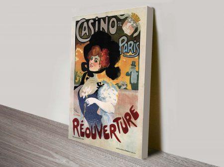 Casino de Paris vintage art
