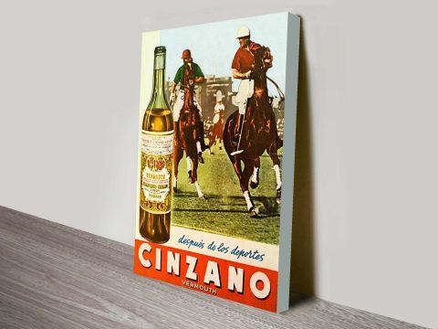Buy Cinzano Vintage Advertising Wall Art