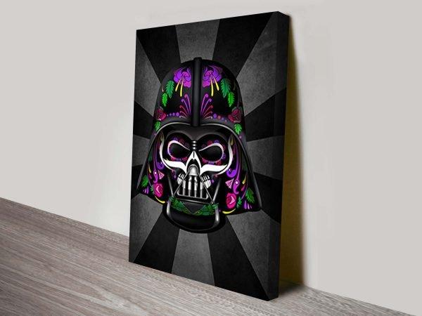 Darth Vader Dia De Los Muertos Star Wars Art