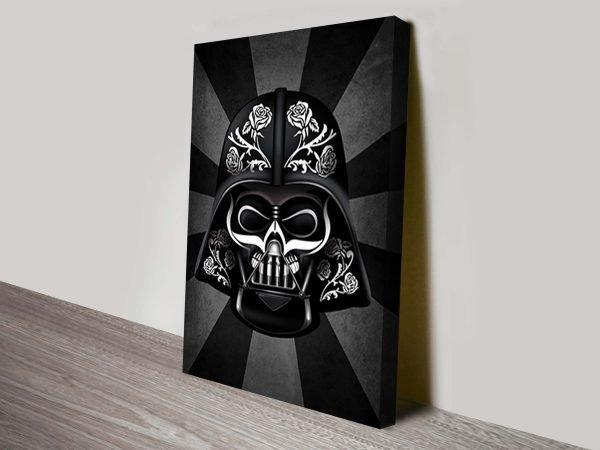 Darth Vader Dia De Los Muertos Wall Art