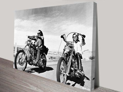 Dennis Hopper easyrider canvas print
