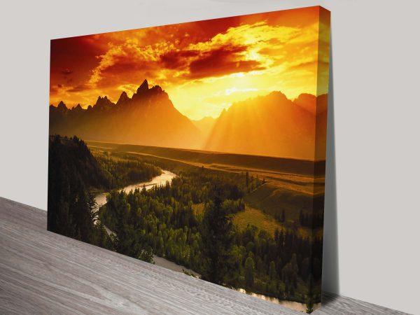 Dream Valley Canvas Print Australia