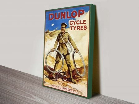 Dunlop Tyres-Vintage Art Poster and Prints