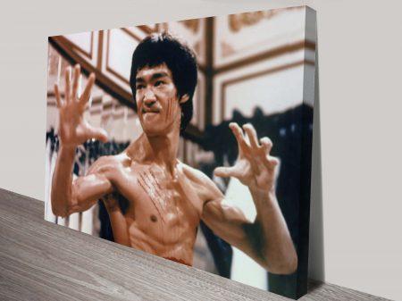Enter The Dragon Bruce Lee Pop Art