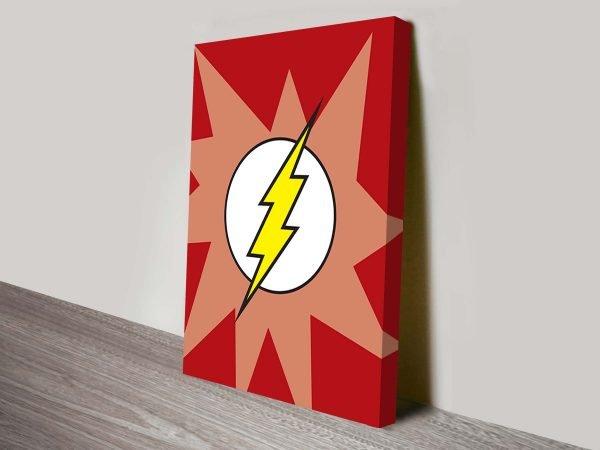 flash marvel comic symbol art.