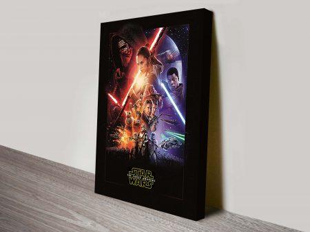 Force Awakens Star Wars Pop Art