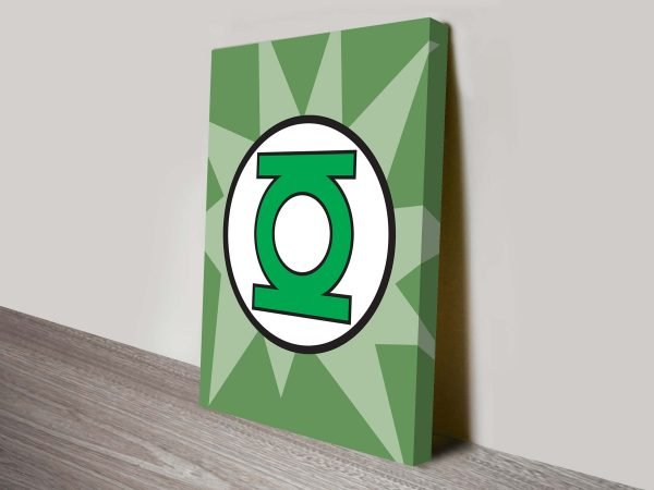 green lantern marvel comic art