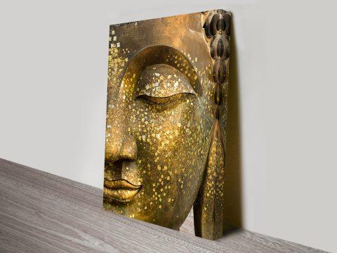 golden buddha brisbane canvas art