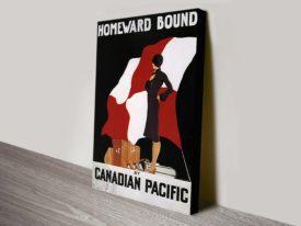 Homeward Bound cruise old-travel poste r