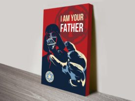 I Am Your Father Darth Vader Star Wars Art