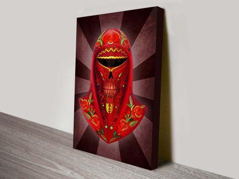Imperial Guard Dia Del Los Muertos Star Wars Art