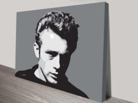 Hollywood Icon James Dean Pop Art Print