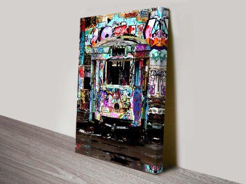 Buy Old Glebe Tram Depot Graffiti Wall Art