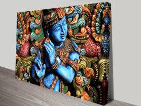 Lord Krishna Wall Art Sydney Australia