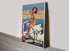 Marina di Massa poster wall art