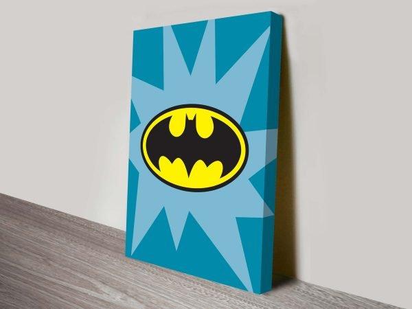 Batman Marvel Comic Logo Art