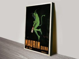 Maurin Vintage Poster Canvas Art