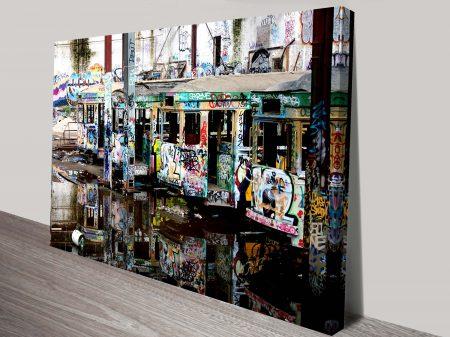 Buy Mirrors Cool Graffiti Wall Art