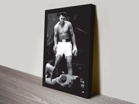 Muhammad Ali canvas wall art