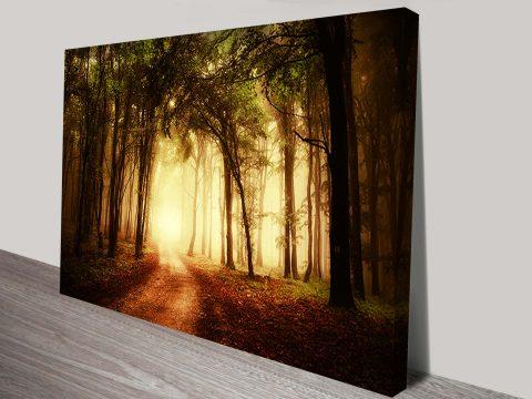 Mystical Woods Canvas Art Print