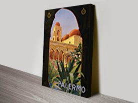Palermo Travel Posters Art