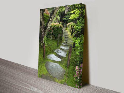 Path of serenity wall art