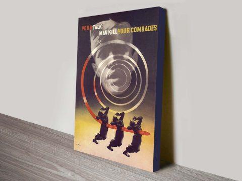 Dudovich Propaganda Poster
