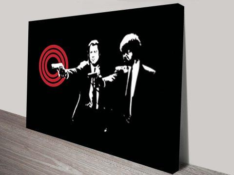 Pulp Fiction canvas wall art