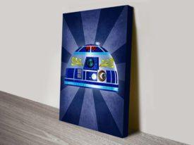 R2D2 Dia De Los Muertos Star Wars Art