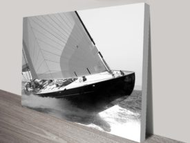 Sailing yacht Lionheart print