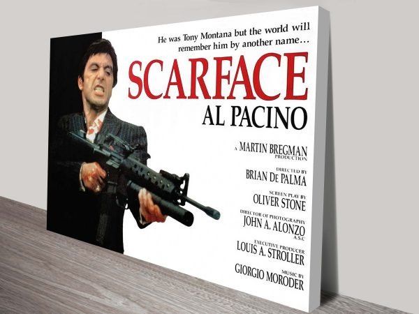Buy a Scarface Movie Poster Framed Print