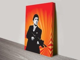 Scarface Classic Movie Film Poster pop art