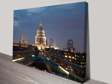 St Pauls Cathedral Canvas Wall Art