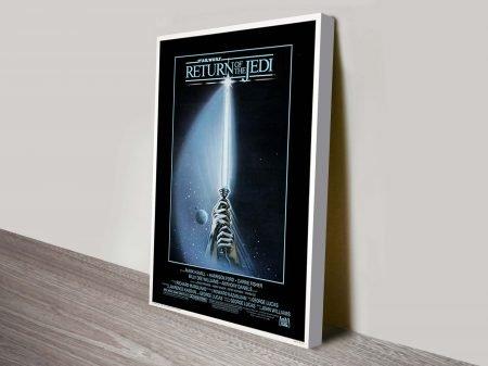 Return Jedi Star Wars Movie Poster Canvas Print
