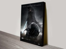 Star Wars The Force Awakens Movie Poster Canvas