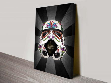 Stormtrooper Dia De Los Muertos Star Wars Art