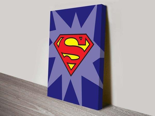 Superman Marvel Comic Art