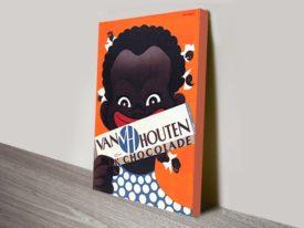 Van Houten_Chocolade advertising poster