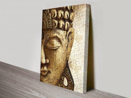 Vintage Buddha Canvas Print