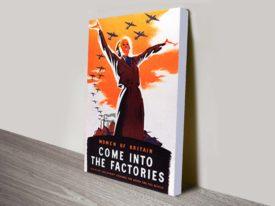 Women of Britain come poster