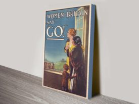 Women of Britain Poster Propaganda