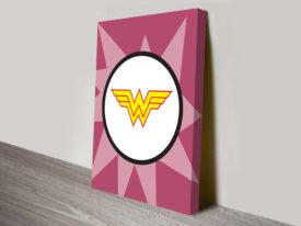 wonder women marvel comic wall art