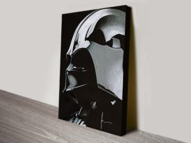 Darth Vader Star Wars Sketch Canvas Art