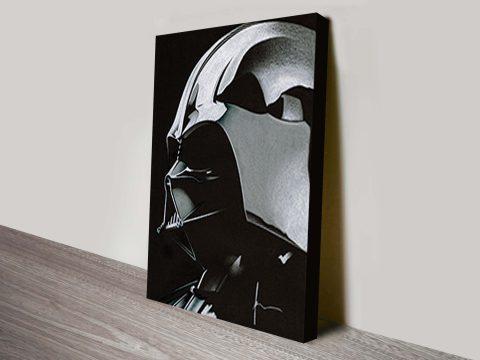 Buy Darth Vader Star Wars Sketch Canvas Art