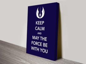 Keep Calm Star Wars Art