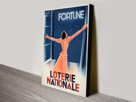 Loterie Nationale-Vintage French Poster Print